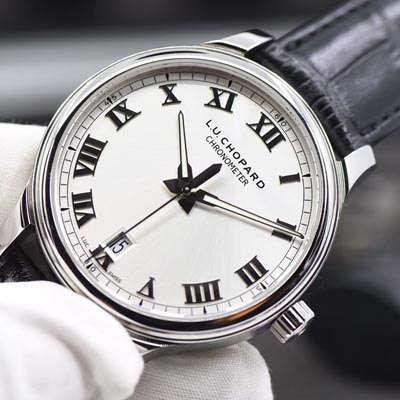 【视频评测FK厂一比一超A高仿手表】萧邦L.U.C系列168544-3001腕表