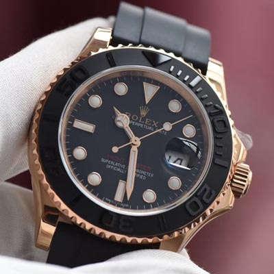 【视频评测JF一比一超A精仿手表】劳力士游艇名仕型系列116655-Oysterflex bracelet男士腕表价格报价