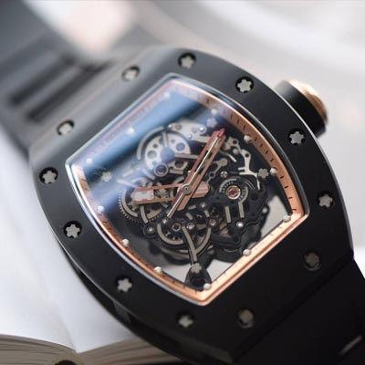 【独家视频评测KV厂一比一超A精仿手表】理查德米尔RICHARD MILLE男士系列RM 055腕表
