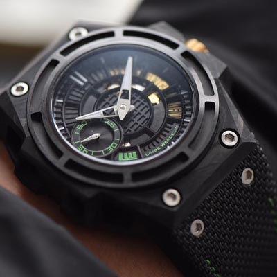 【XF厂一比一超A高仿手表】瑞士钟表制造商 Linde Werdelin (林德维纳)SPIDOLITE TECH GREEN watch价格报价