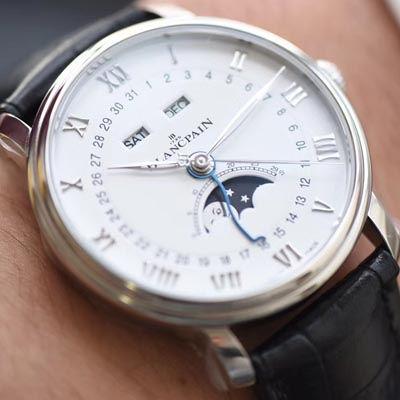 【视频评测OM厂1:1超A精仿手表】宝珀经典系列 6654-1127-55B腕表