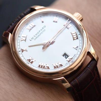 【FK厂一比一超A精仿手表】萧邦L.U.C系列161937-5001腕表