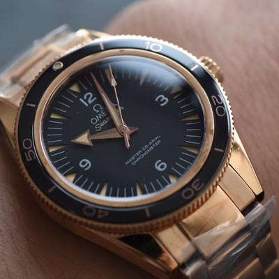 【XF一比一超A精仿手表】欧米茄海马300系列233.20.41.21.01.001腕表