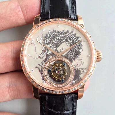 【LH厂一比一超A高仿手表】江诗丹顿()中国龍限量版(龙戏珠)陀飞轮腕表