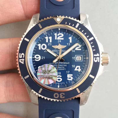 【GF厂一比一超A高仿手表】百年灵超级海洋系列A17392D8|C910|228S|A20SS.1腕表