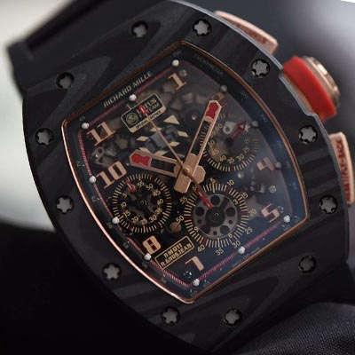【KV一比一超A高仿手表】理查德.米勒RICHARD MILLE男士系列RM 011 LOTUS F1 TEAM男士机械腕表价格报价