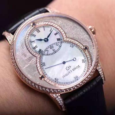 【KS厂一比一超A高仿手表】雅克德罗大秒针系列J003033341腕表 YK08