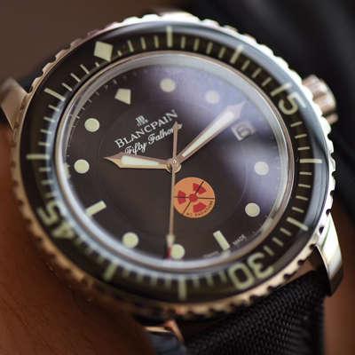 【ZF一比一超A高仿手表】宝珀五十噚系列5015B-1130-52生化危机版本腕表