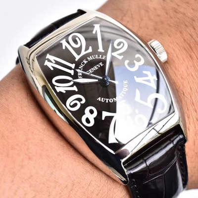 【GF厂一比一超A高仿手表】法兰克穆勒CASABLANCA系列8880 C DT 黑盘腕表