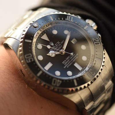 【独家视频评测NOOB厂V7版本一比一超A高仿手表】劳力士海使型系列116660-98210 黑盘腕表(大号黑水鬼王)价格报价