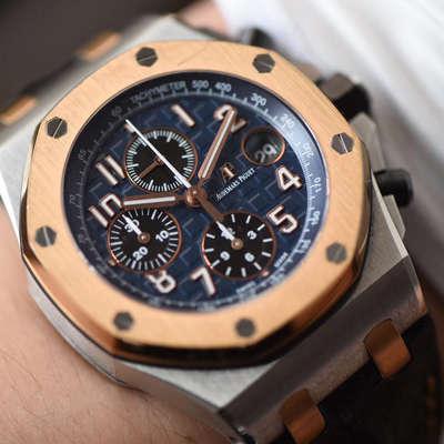 【JF厂一比一超A高仿手表】爱彼皇家橡树离岸型系列26471SR.OO.D101CR.01腕表