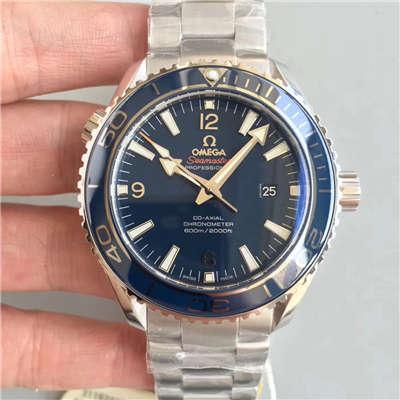 【OM一比一超A高仿手表】欧米茄海马海洋宇宙600米腕表系列232.90.46.21.03.001腕表