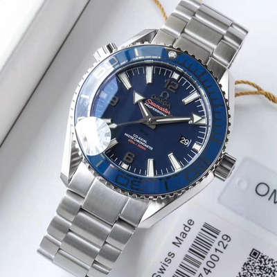 【OM厂一比一超A高仿手表】欧米茄 海洋宇宙600米系列215.30.44.21.03.001腕表