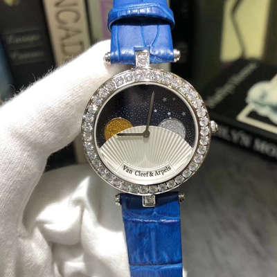 VCA梵克雅宝诗意复杂功能腕表系列VCARN25800女士腕表