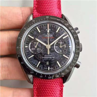 【JH厂1:1顶级复刻手表】欧米茄超霸  月球表系列311.92.44.51.01.007 月之暗面机械腕表价格报价
