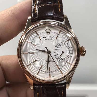 【VF一比一超A高仿手表】劳力士切利尼日历型系列50515、m50519-0013、50519白盘、黑盘腕表价格报价