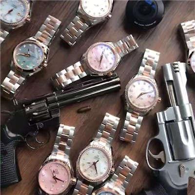 【HBBV6厂1:1顶级复刻手表】欧米茄海马系列231.20.30.20.06.003女装手表价格报价
