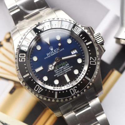劳力士海使型系列m126660-0002腕表【台湾厂高仿手表劳力士渐变蓝】价格报价