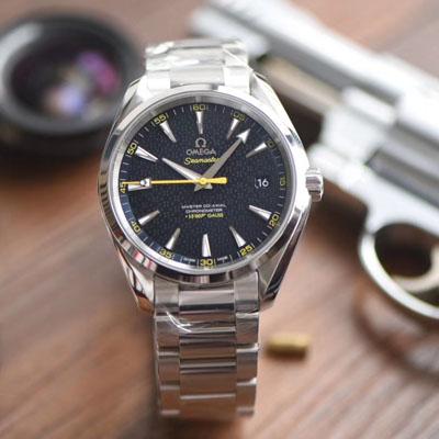 【VS一比一超A高仿手表】欧米茄海马系列 007詹姆斯邦德限量版 231.10.42.21.03.004机械腕表