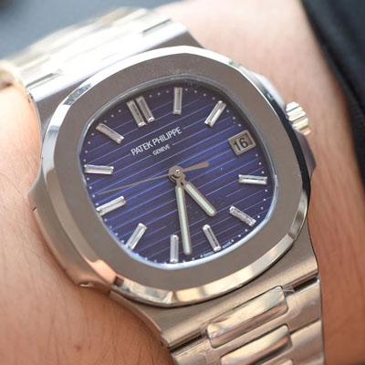 【PF厂一比一超A高仿手表】百达翡丽Nautilus系列 四十周年纪念腕表5711/1P-001