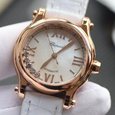 【NR厂高端复刻女表小号30毫米】萧邦HAPPY DIAMONDS系列274893-5009腕表