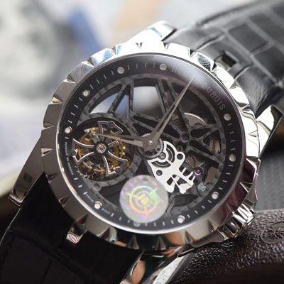 【JB厂一比一复刻陀飞轮手表】罗杰杜彼EXCALIBUR王者系列RDDBEX0260、RDDBEX0393腕表价格报价