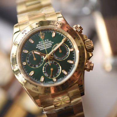 劳力士宇宙计型迪通拿系列116508绿盘男士机械腕表【AR一比一高仿手表】价格报价