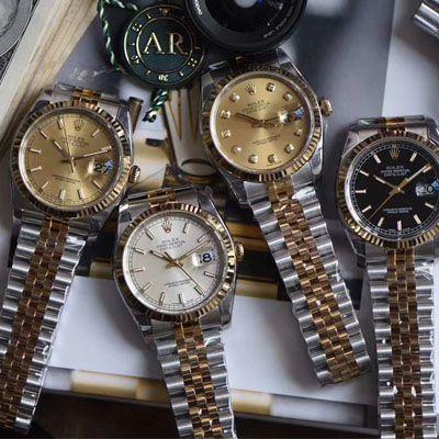 劳力士日志型系列116233银盘纪念型表带腕表,116233金盘镶钻,116233黑盘纪念表带,m126233-0015【AR一比一复刻手表】价格报价