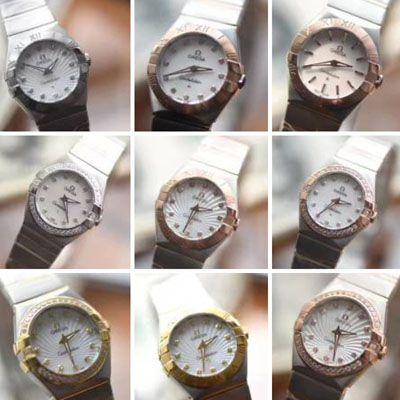 欧米茄星座系列123.10.27.60.57.001女士石英腕表(多色可选)【视频评测SSS一比一超A高仿手表】价格报价