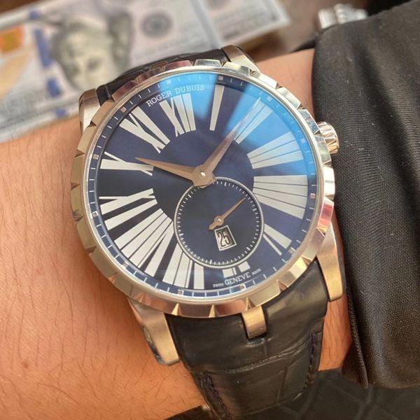 PF厂超A高仿手表罗杰杜彼EXCALIBUR(王者系列)系列DBEX0535腕表