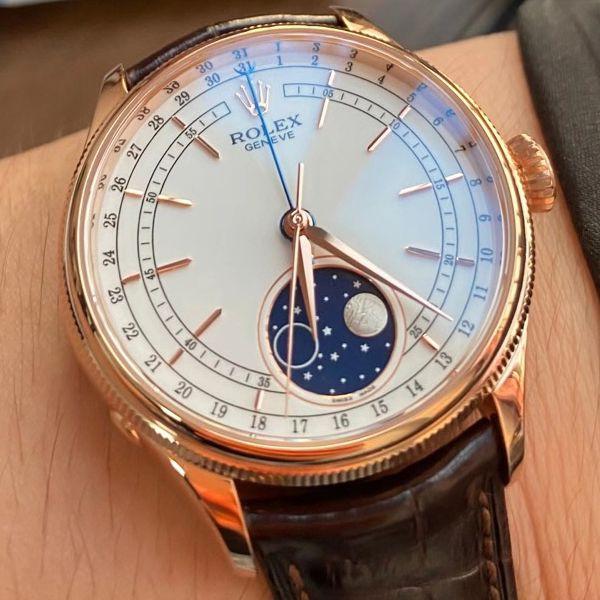 KZ厂1比1高仿手表劳力士超级切利尼m50535-0002腕表价格报价