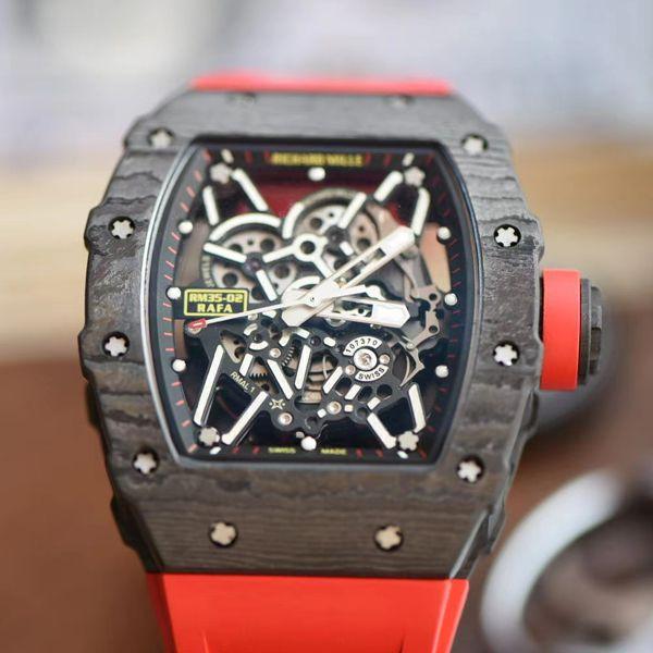 ZF厂超A高仿理查德米勒RM35-02手表改装厂ABD合作V3版价格报价