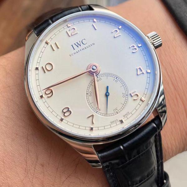 YL厂万国表葡萄牙小三针系列IW358303顶级1比1高仿手表价格报价
