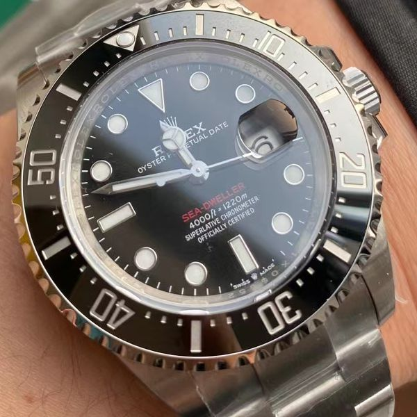 XF厂年终收官之作劳力士红海使小鬼王m126600-0001顶级1比1精仿手表