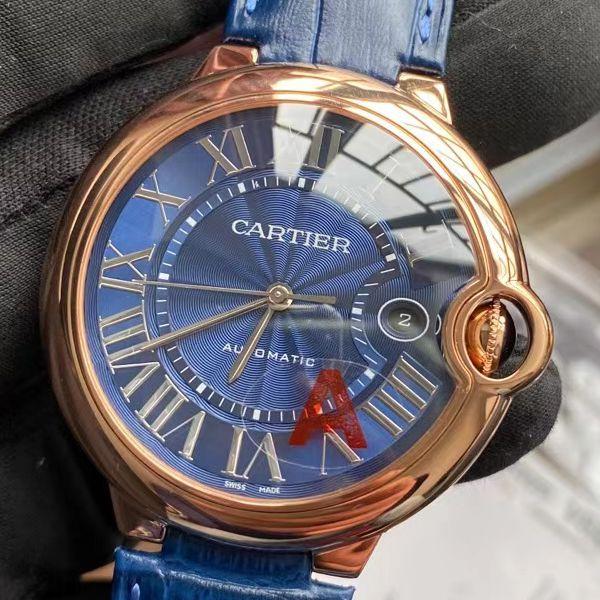 V6厂V8版本卡地亚蓝气球男装一比一顶级精仿手表WGBB0036腕表价格报价