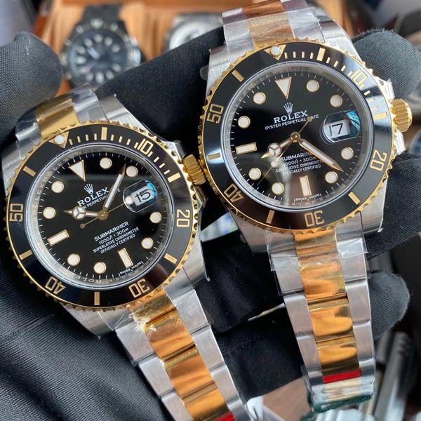 VS厂劳力士包金或者镀金间金黑水鬼顶级复刻手表116613-LN-97203腕表 价格报价
