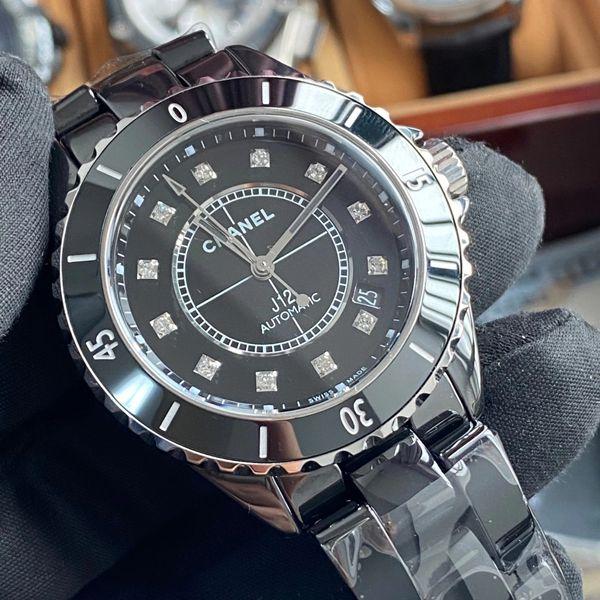 KOR厂香奈儿J12系列1比1超A精仿手表女装机械H5702价格报价