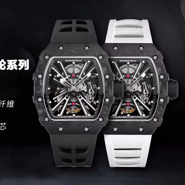 KV厂理查德米勒RM 12-01 Tourbillon Limited Editions 1比1顶级复刻限量陀飞轮手表价格报价