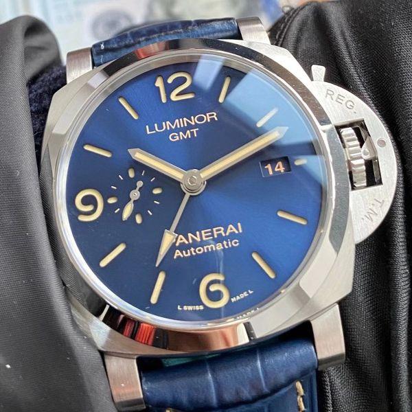 VS厂沛纳海1比1超A复刻手表GMT两地时PAM01033腕表价格报价