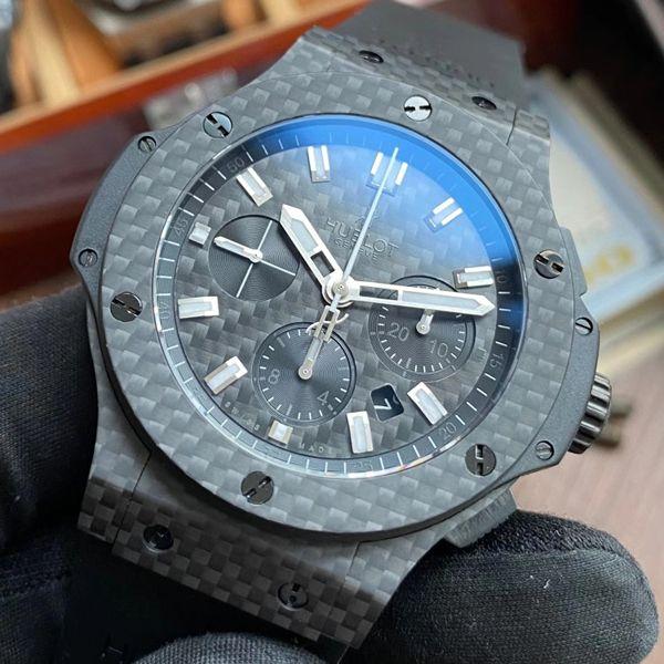 【视频评测】V6厂宇舶大爆炸一比一复刻手表全碳纤维301.QX.1724.RX腕表价格报价