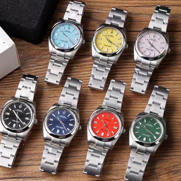 KRF厂顶级复刻手表劳力士36毫米蚝式恒动m126000-0003和m126000-0001和m126000-0005腕表价格报价