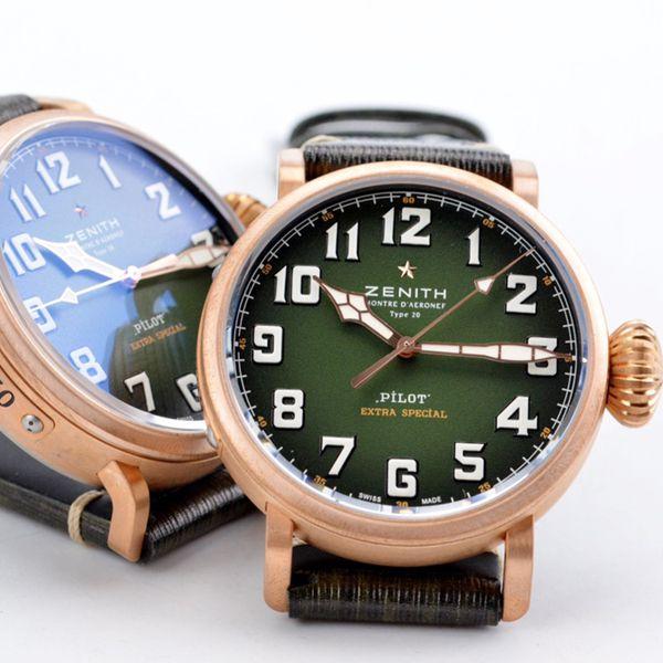 XF厂真力时卡其绿青铜大飞一比一超A复刻手表29.2430.679/63.I001腕表价格报价