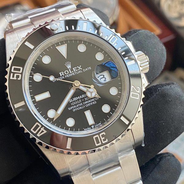 VS厂劳力士m126610lv-0002顶级1比1复刻手表专柜新款绿水鬼m126610lv-0002黑水鬼价格报价