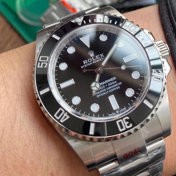 【视频评测】EW厂劳力士新款41无历水鬼超A顶级高仿手表m124060-0001腕表价格报价