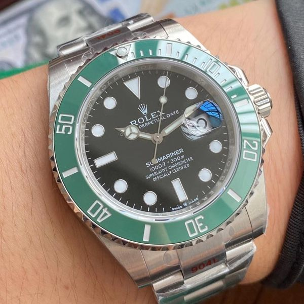 视频评测EW厂劳力士专柜新款绿水鬼1比1超A复刻手表41毫米m126610lv-0002腕表价格报价