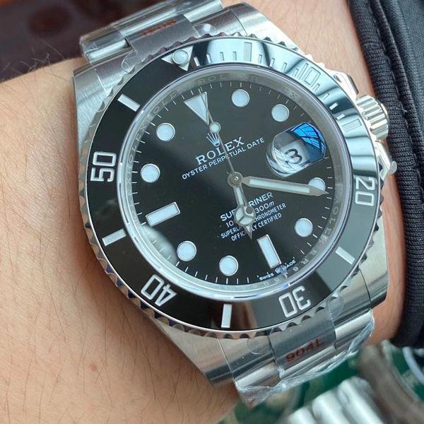 【视频评测】EW厂劳力士专柜新款41毫米黑水鬼顶级1比1复刻手表m126610ln-0001腕表价格报价