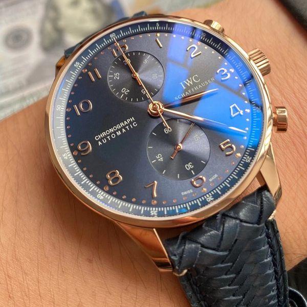 【视频评测】YL厂万国背透葡计顶级高仿手表IW371614腕表价格报价