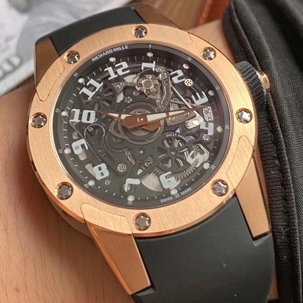 V9厂理查德米勒Richard Mille RM 63-01 1比1超A高仿手表 Dizzy Hands男装自动机械腕表价格报价