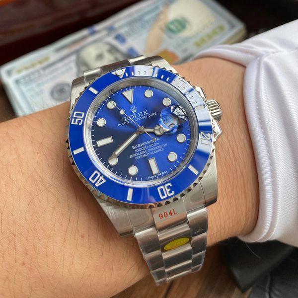 N厂V10版劳力士蓝水鬼潜航者型一比一复刻手表116619LB-97209腕表价格报价