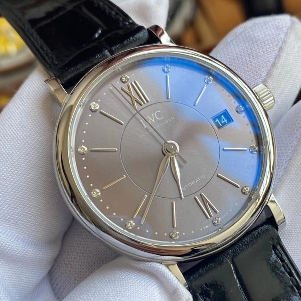 v7厂万国柏涛菲诺顶级复刻手表官网女装IW458102腕表价格报价